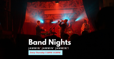 Floh Weekday Stressbuster: Band Night!