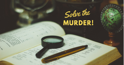 Find The Clues. Solve The Murder