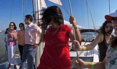 Sailing. Sunset. Style.