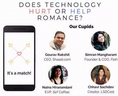 Does Technology Hurt or Help Romance - Global Shapers Mumbai Discussion