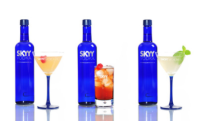 Summer Cocktails with Skyy!