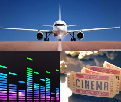 Music. Travel. Movies.