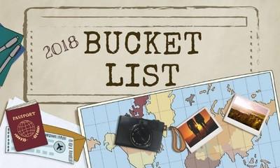 Your 2018 Bucket List!