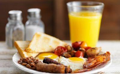 Breakfast at Monkey Bar!