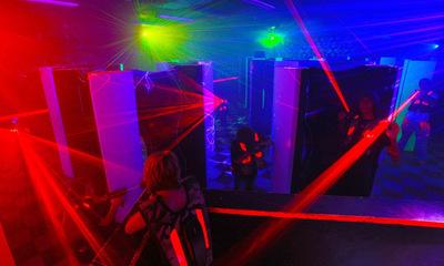 Laser Tag Time!
