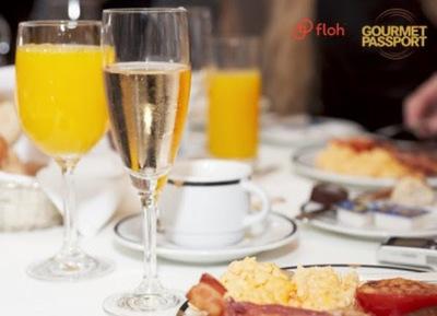 An Exquisite Sparkling Wine Breakfast