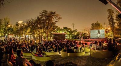 Floh Pop Up : Open Air Cinema - Halloween Special